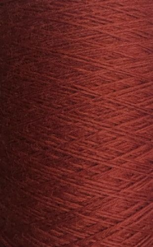 King Cole Pure Wool Yarn 500g Cone 4ply - Rust